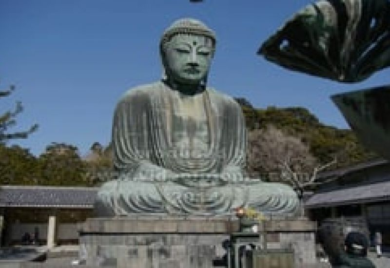 Hasadera Temple and the Great Buddha KAMAKURA JAPONSKO 2014